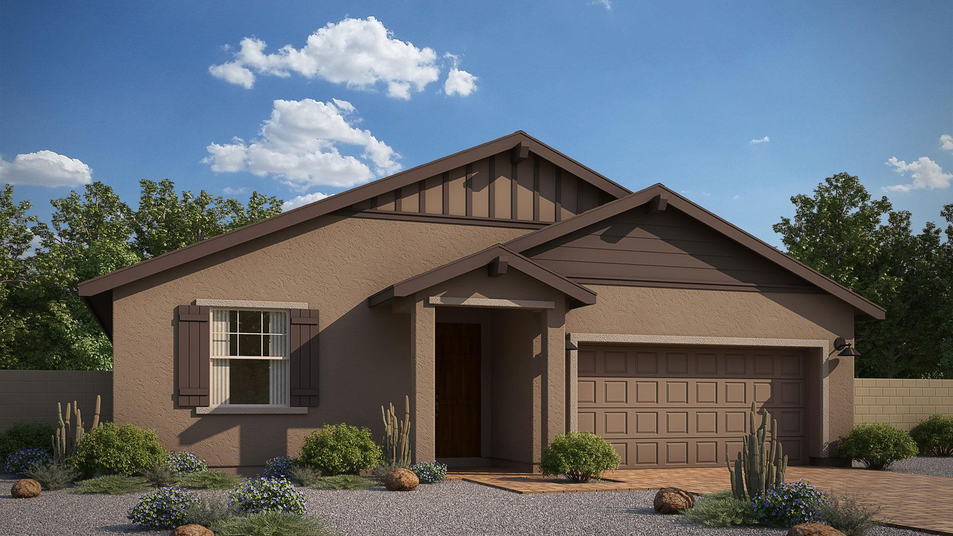 Exterior featured in the Sunrise II  By Mandalay Homes in Prescott, AZ