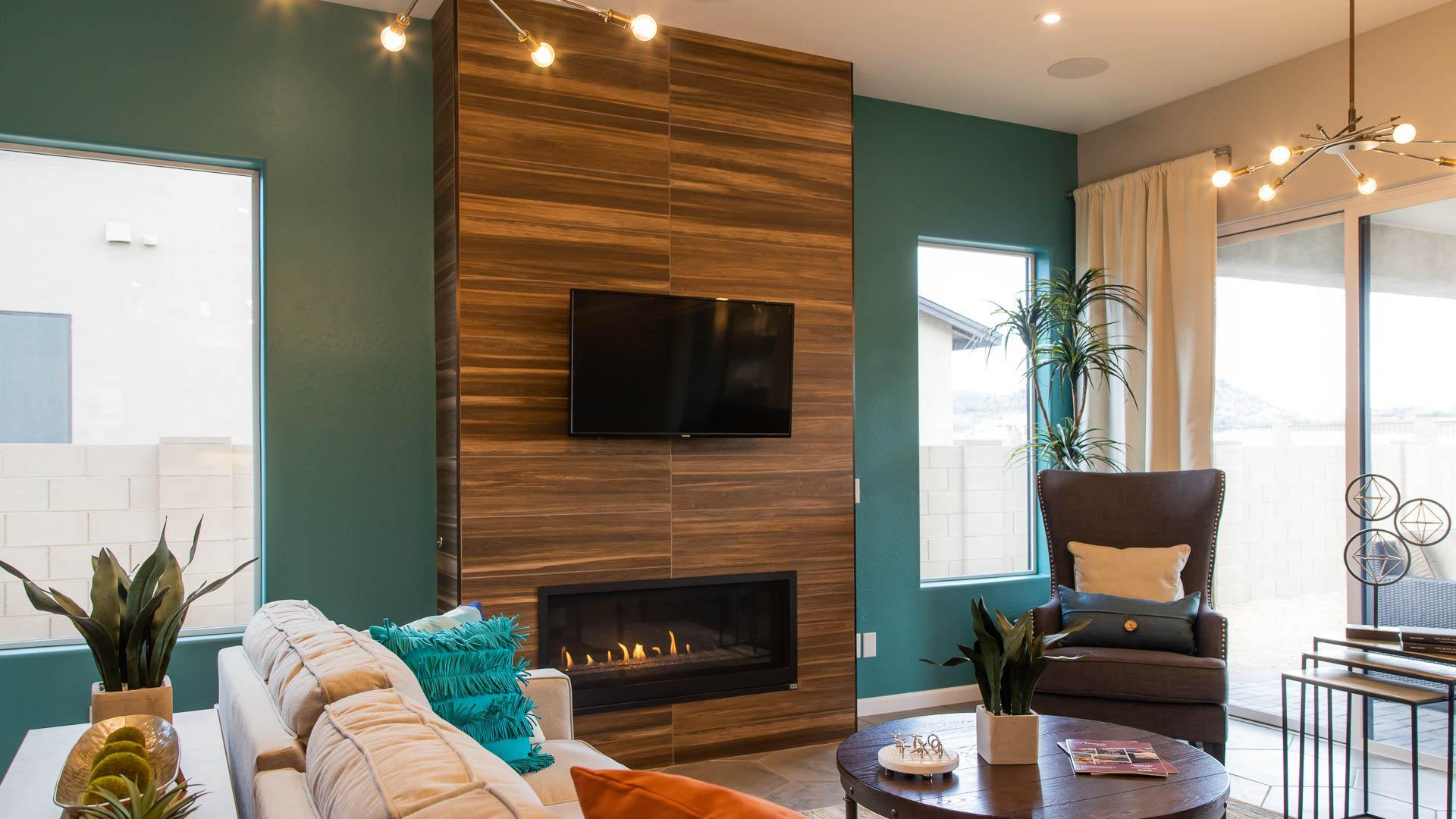 Living Area featured in the Corona at Foothills By Mandalay Homes in Prescott, AZ