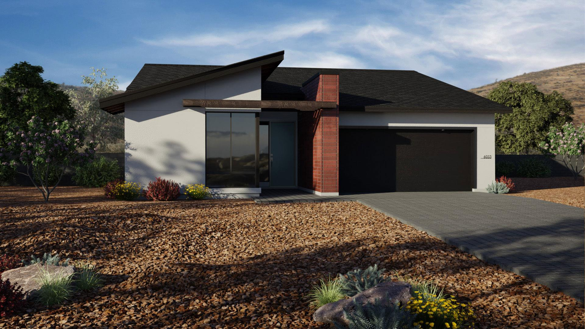 Exterior featured in the J603 By Mandalay Homes in Prescott, AZ