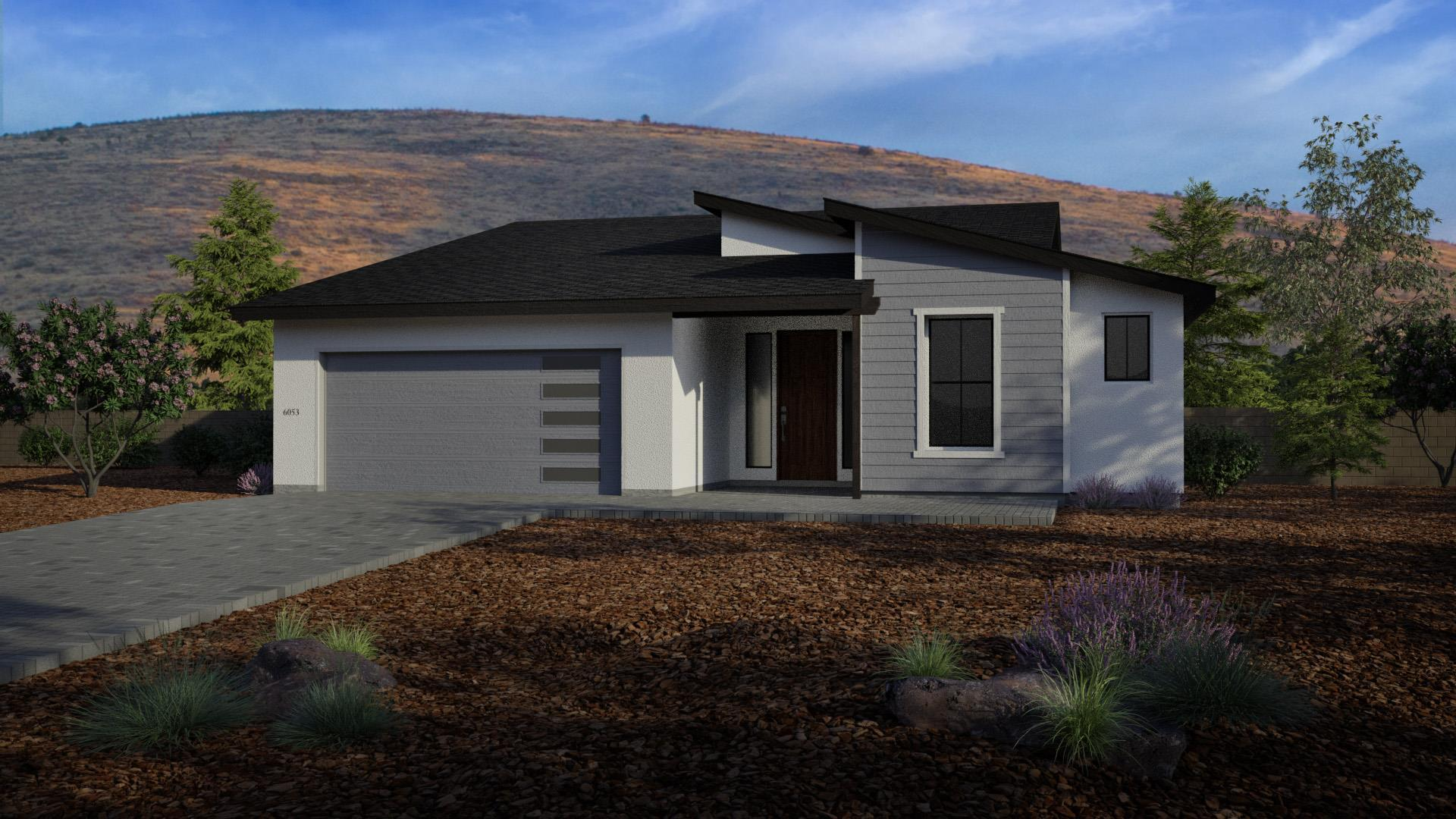 Exterior featured in the J605 By Mandalay Homes in Prescott, AZ