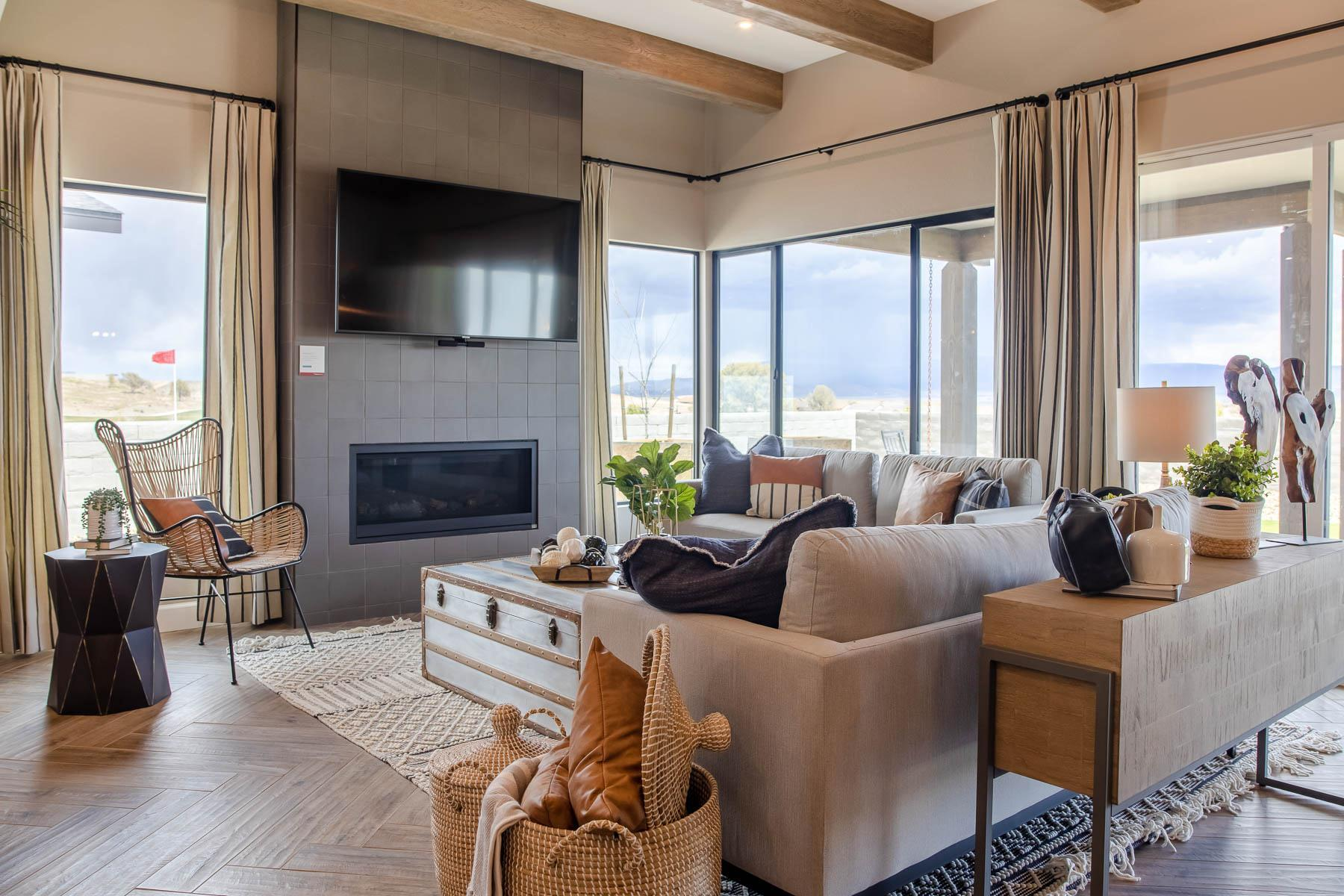 Living Area featured in the J604 By Mandalay Homes in Prescott, AZ