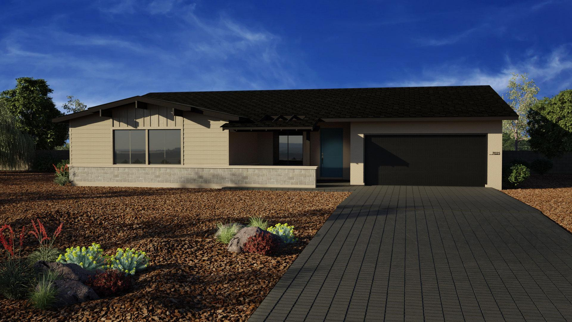 Exterior featured in the J702 By Mandalay Homes in Prescott, AZ