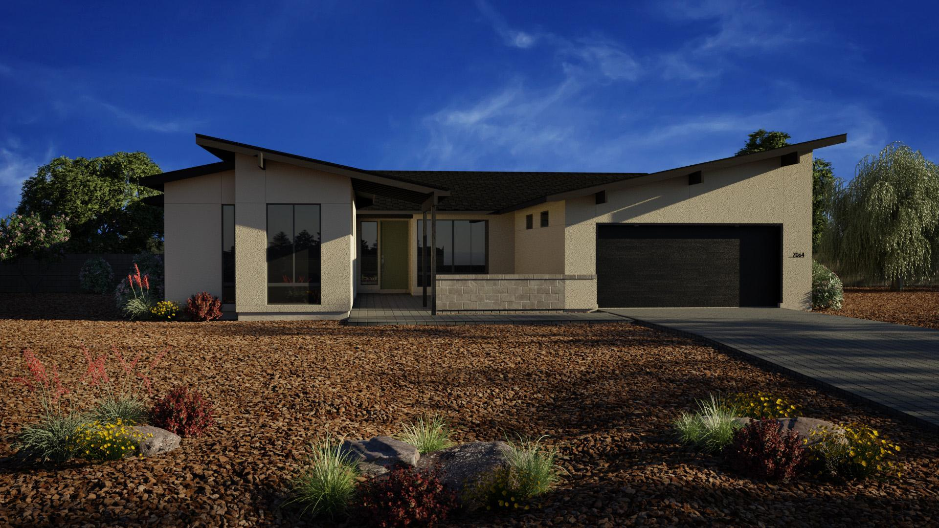 Exterior featured in the J706 By Mandalay Homes in Prescott, AZ