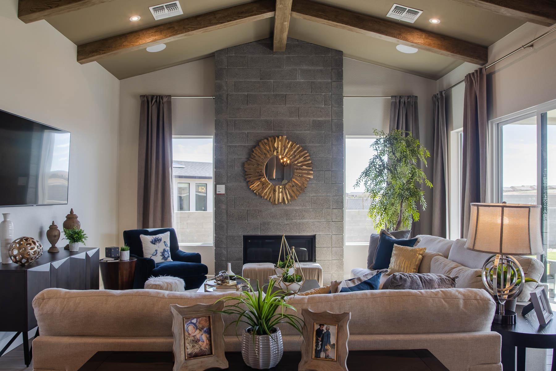 Living Area featured in the J706 By Mandalay Homes in Prescott, AZ