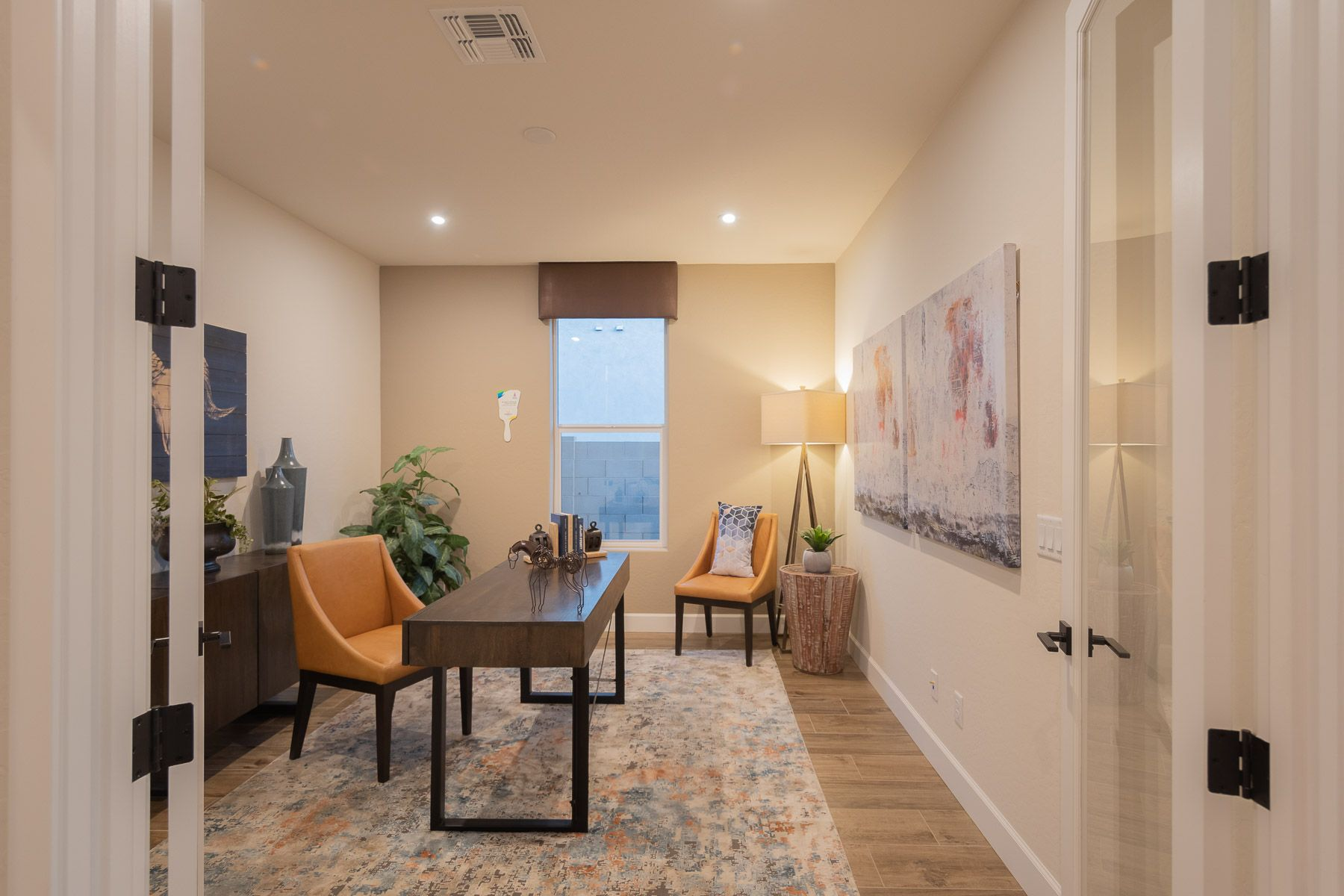 Living Area featured in the Morning Sky at Foothills By Mandalay Homes in Prescott, AZ