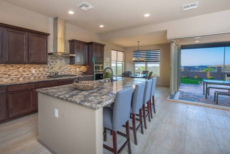 Kitchen-in-Star Gazer-at-The Traditions at Mountain Gate-in-Clarkdale