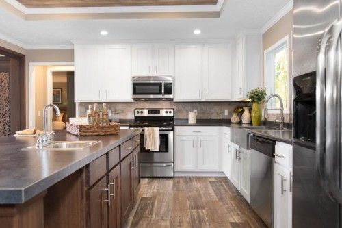 Kitchen featured in The Churchill By Manufactured Housing Consultan in San Antonio, TX