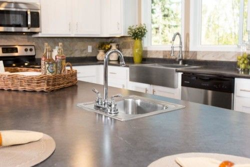 Kitchen featured in The Churchill By Manufactured Housing Consultan in Corpus Christi, TX