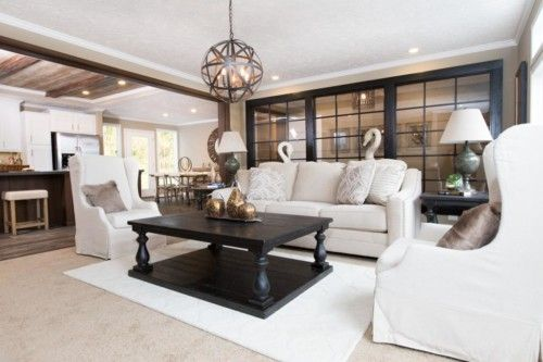 Living Area featured in The Churchill By Manufactured Housing Consultan in Laredo, TX