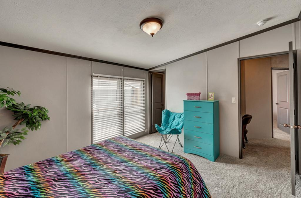 Bedroom featured in The El Jefe By Manufactured Housing Consultan in Corpus Christi, TX