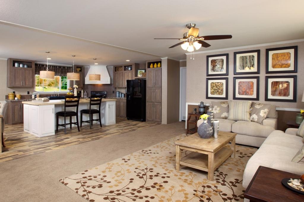 Living Area featured in The Drake By Manufactured Housing Consultan in Laredo, TX