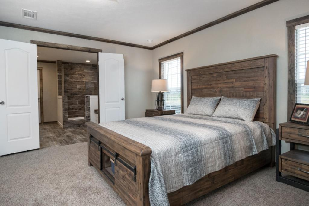 Bedroom featured in The Littlefield By Manufactured Housing Consultan in Corpus Christi, TX