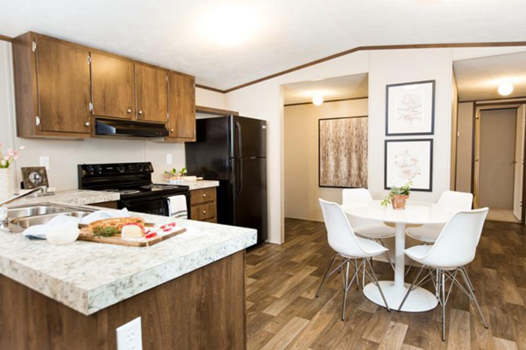 Kitchen featured in The Bliss By Manufactured Housing Consultan in Corpus Christi, TX