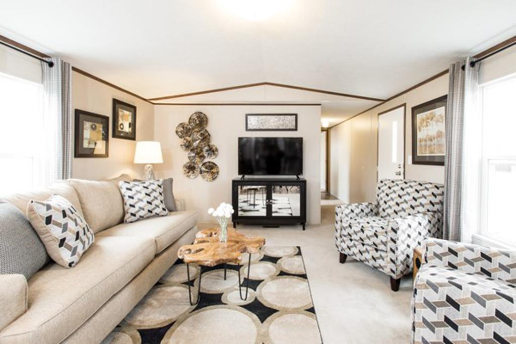 Living Area featured in The Euphoria By Manufactured Housing Consultan in Laredo, TX