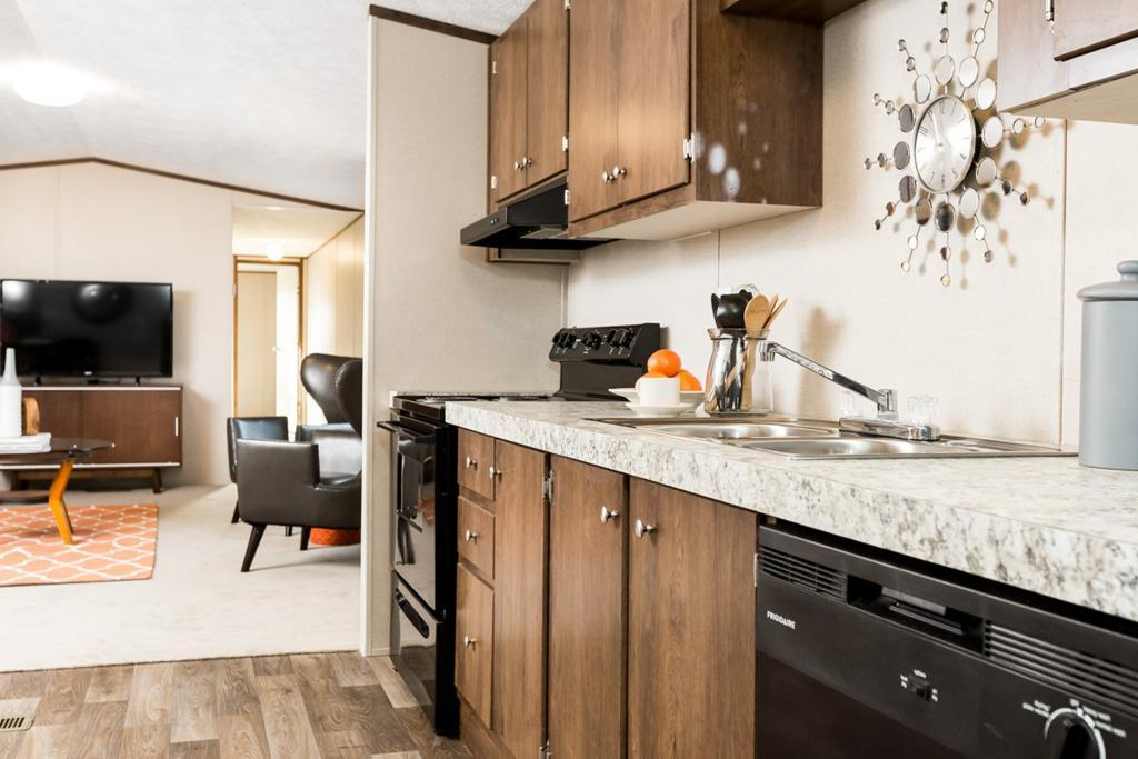 Kitchen featured in The Exhilaration By Manufactured Housing Consultan in Corpus Christi, TX