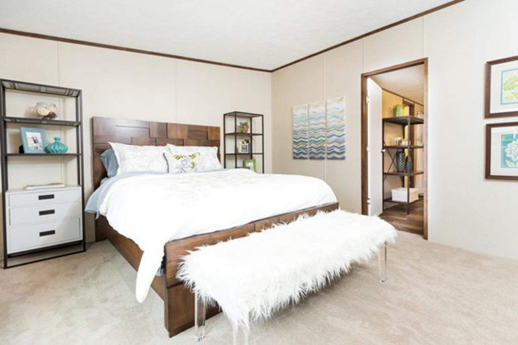 Bedroom featured in The Thrill By Manufactured Housing Consultan in Laredo, TX