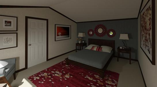 Bedroom featured in The Weston By Manufactured Housing Consultan in Laredo, TX