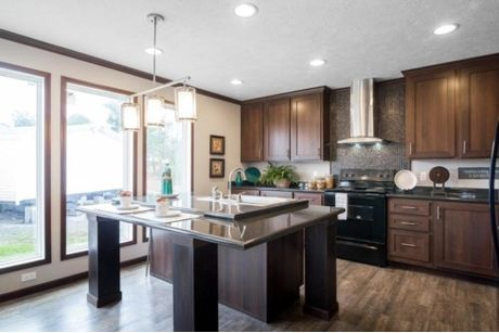 Kitchen-in-The Howell-at-Manufactured Housing Consultants - Von Ormy-in-Von Ormy