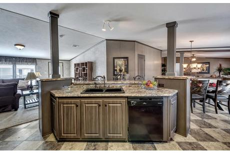 Wet-Bar-in-The El Jefe-at-Manufactured Housing Consultants - Corpus Christi-in-Corpus Christi
