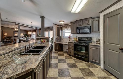 Kitchen-in-The El Jefe-at-Manufactured Housing Consultants - Von Ormy-in-Von Ormy