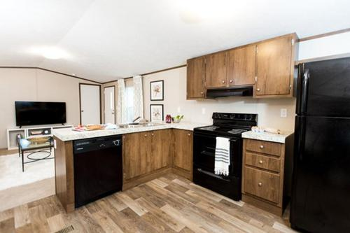 Kitchen-in-The Bliss-at-Manufactured Housing Consultants - Corpus Christi-in-Corpus Christi