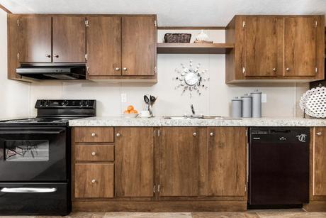 Kitchen-in-The Exhilaration-at-Manufactured Housing Consultants - Von Ormy-in-Von Ormy