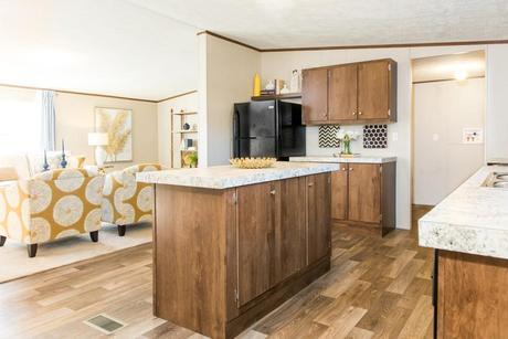Kitchen-in-The Wonder-at-Manufactured Housing Consultants - Von Ormy-in-Von Ormy