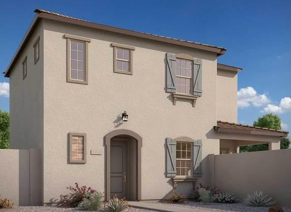 Exterior:Rendering | Elevation C - Cottage