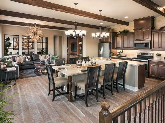 Madera Unit F Model | Great Room
