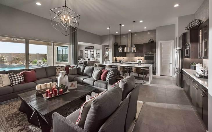 Residence 1 Model | Great Room