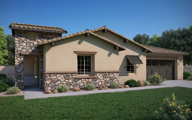 Exterior:Tuscan Elevation Rendering