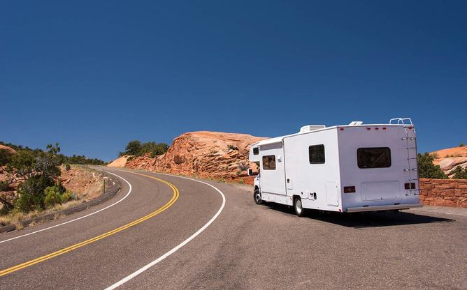 With an RV garage option, you're never far from an adventure on the road.