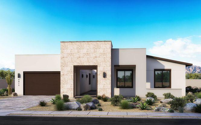 Exterior:Desert Modern Elevation B