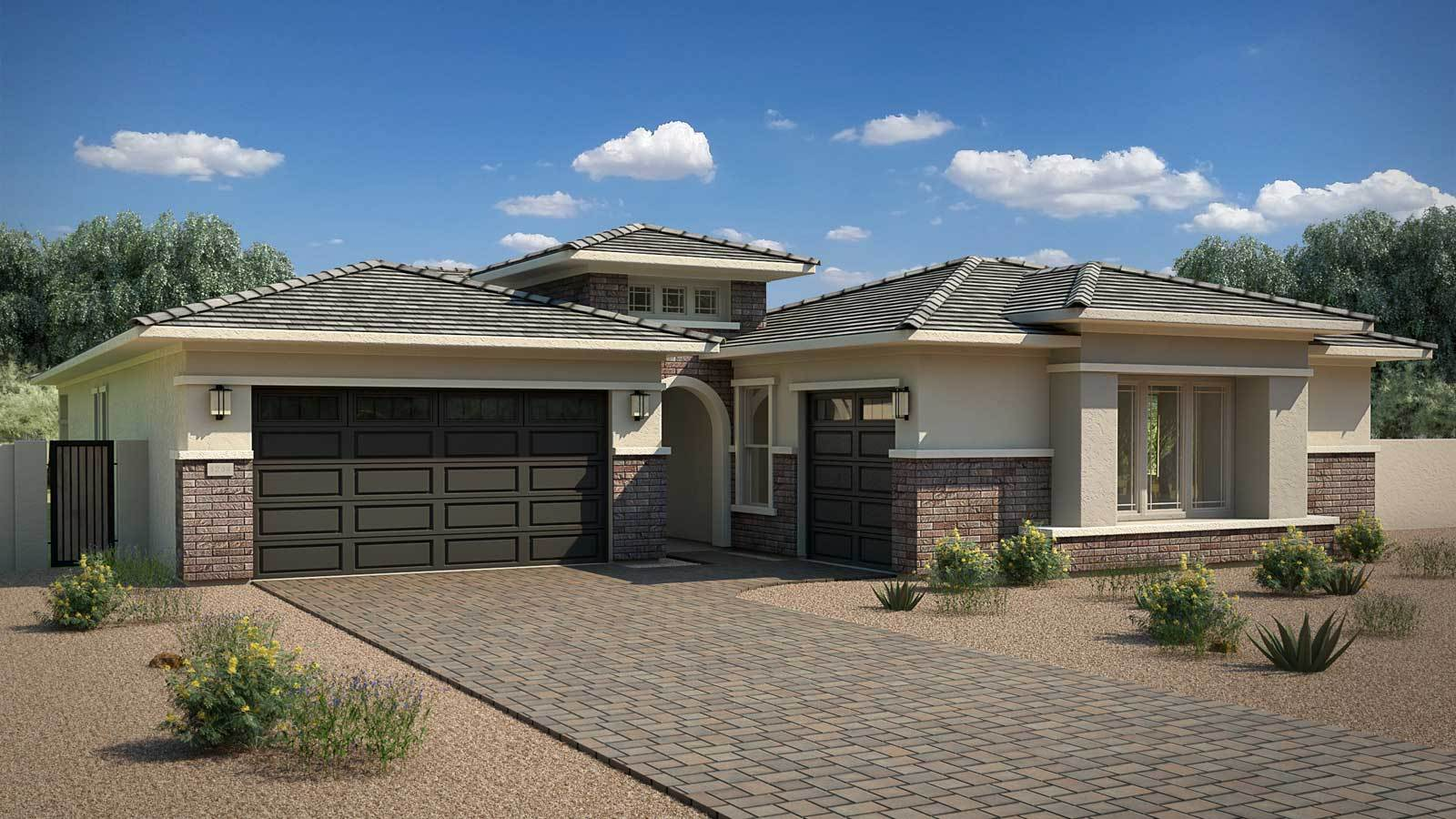 New construction floor plans in chandler heights az for Building a house in arizona