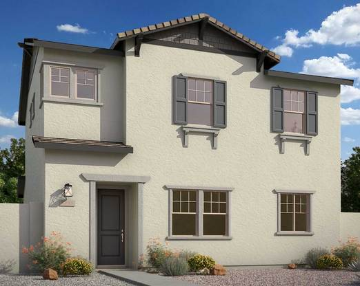 Exterior:Rendering | Elevation B - Craftsman