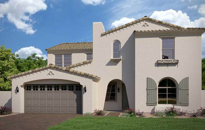Exterior:Residence 5 Elevation A