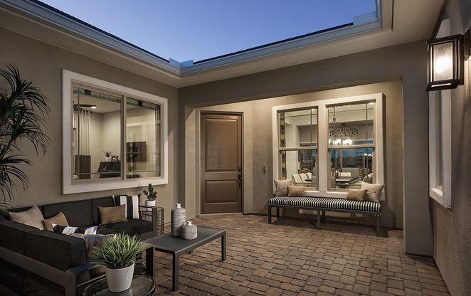 Residence 2 Model | Courtyard