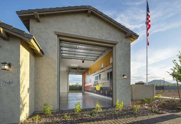 Residence 1 Model | RV Garage Model