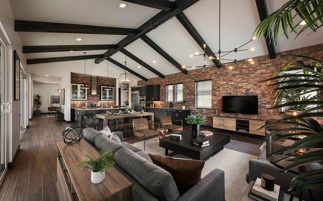 Piedmont Plan 1 | Great Room