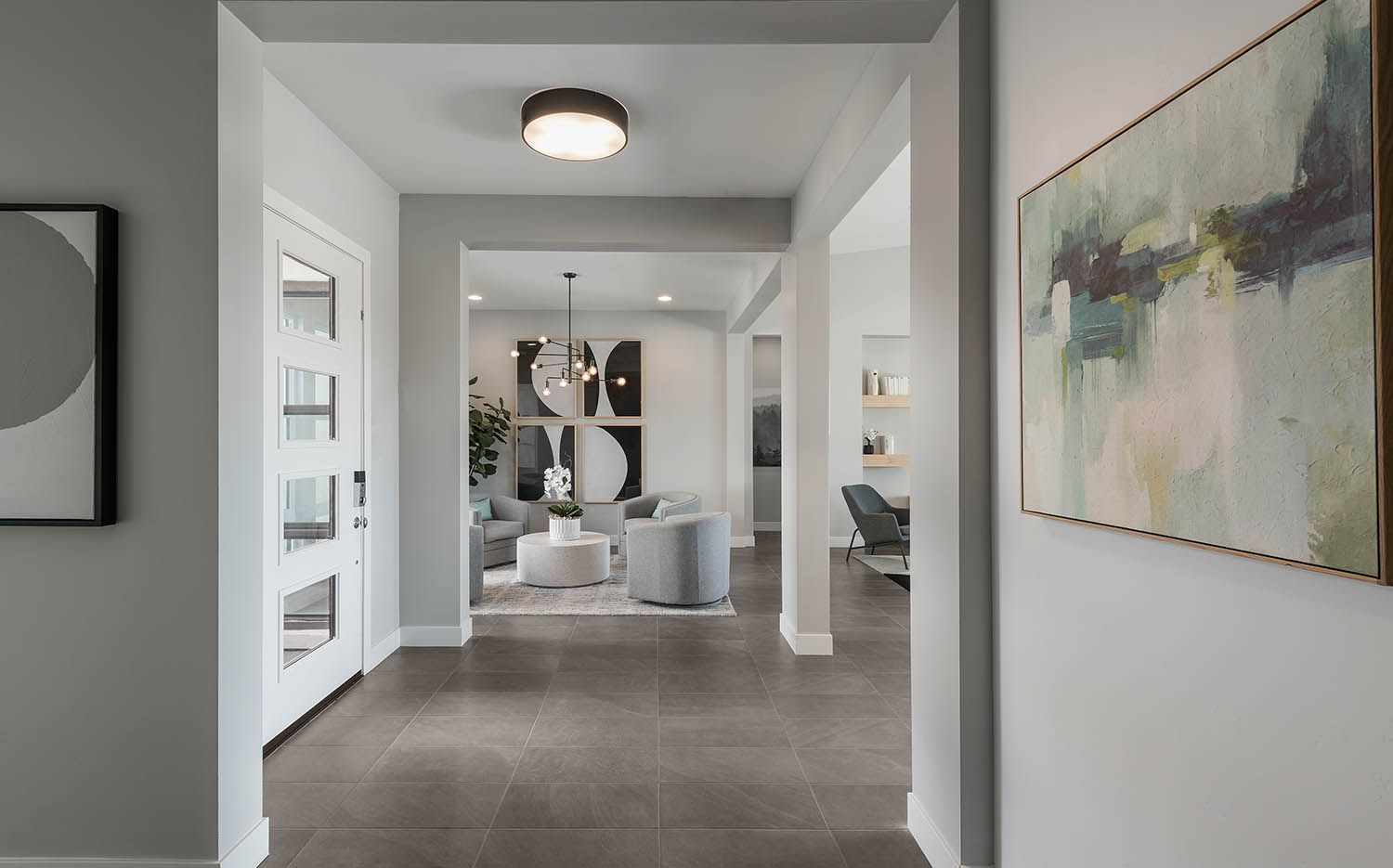 Living Area featured in the Piedmont Plan 3 By Maracay Homes in Phoenix-Mesa, AZ