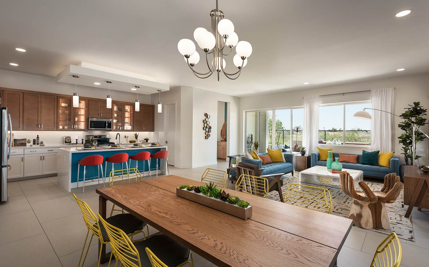 Living Area featured in the Loma Plan 2 By Maracay Homes in Phoenix-Mesa, AZ