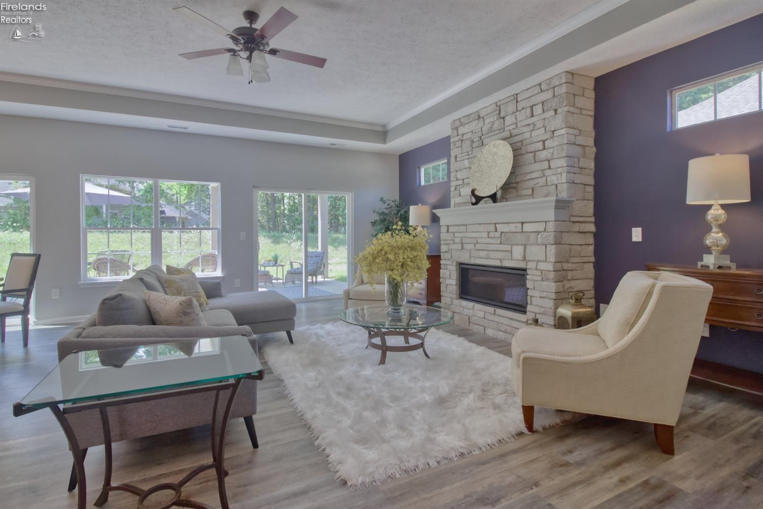 Living Area featured in The Kimberly By Marblewood Homes in Sandusky, OH