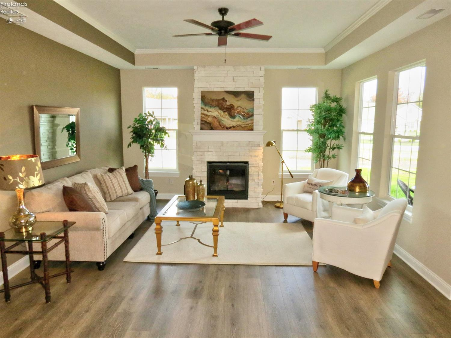 Living Area featured in The Ashley By Marblewood Homes in Sandusky, OH