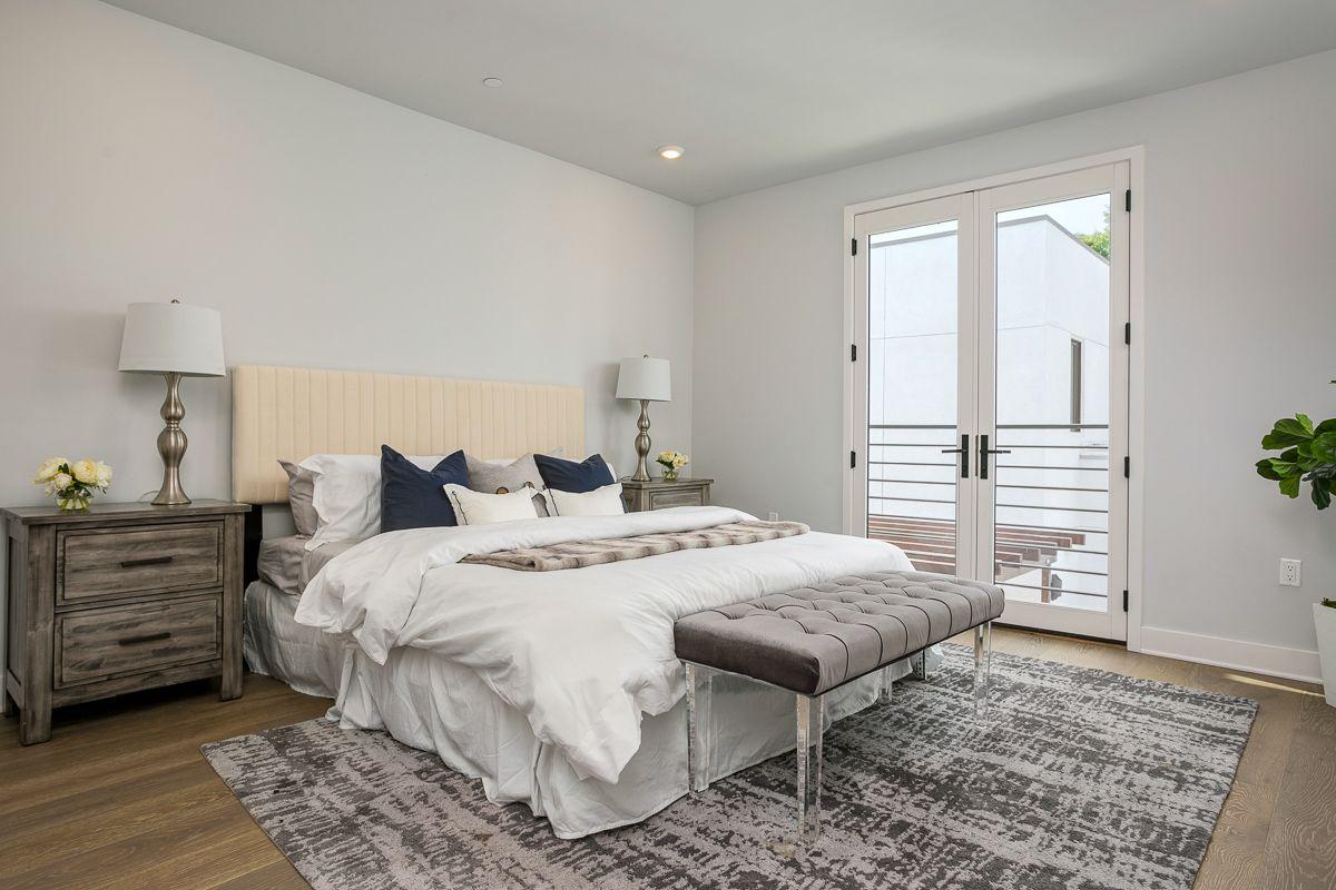 Bedroom featured in the Unit 2 By Marengo Villa Pasadena  in Los Angeles, CA