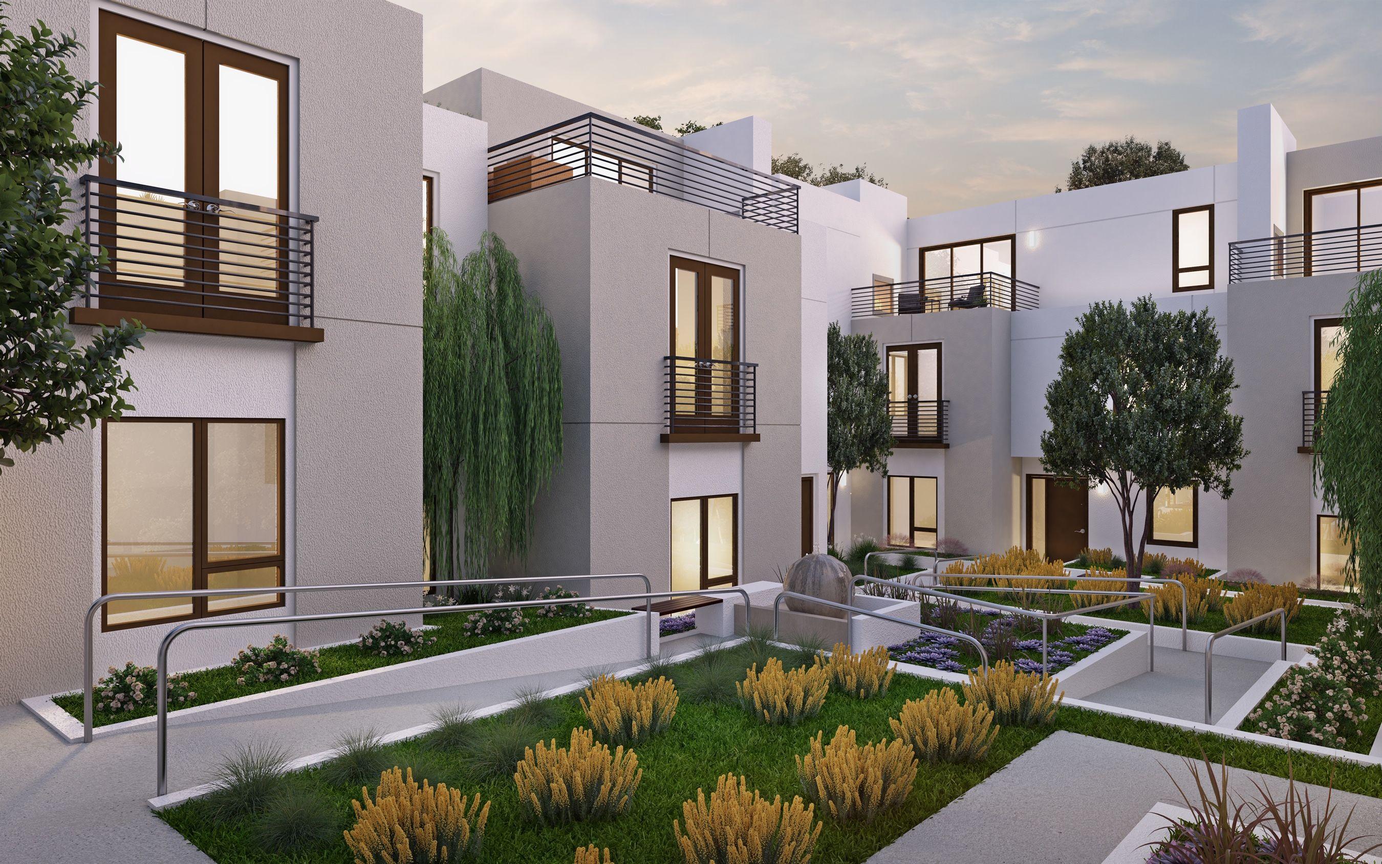 Exterior featured in the Unit 12 By Marengo Villa Pasadena  in Los Angeles, CA