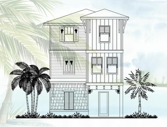 Cottage 2511:Elevation A