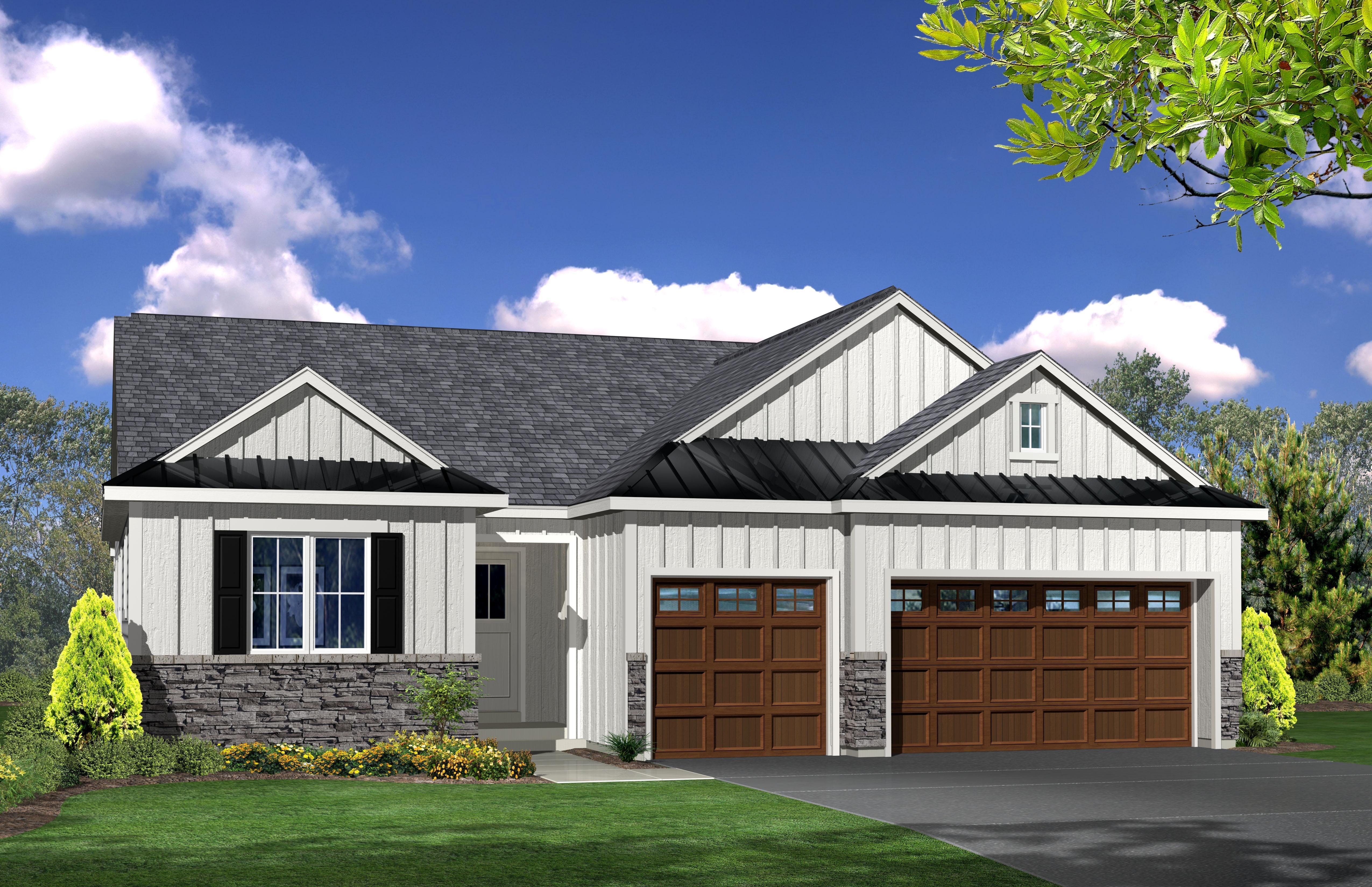 Exterior featured in the Trilogy 1 By Marini Homes in Albany-Saratoga, NY