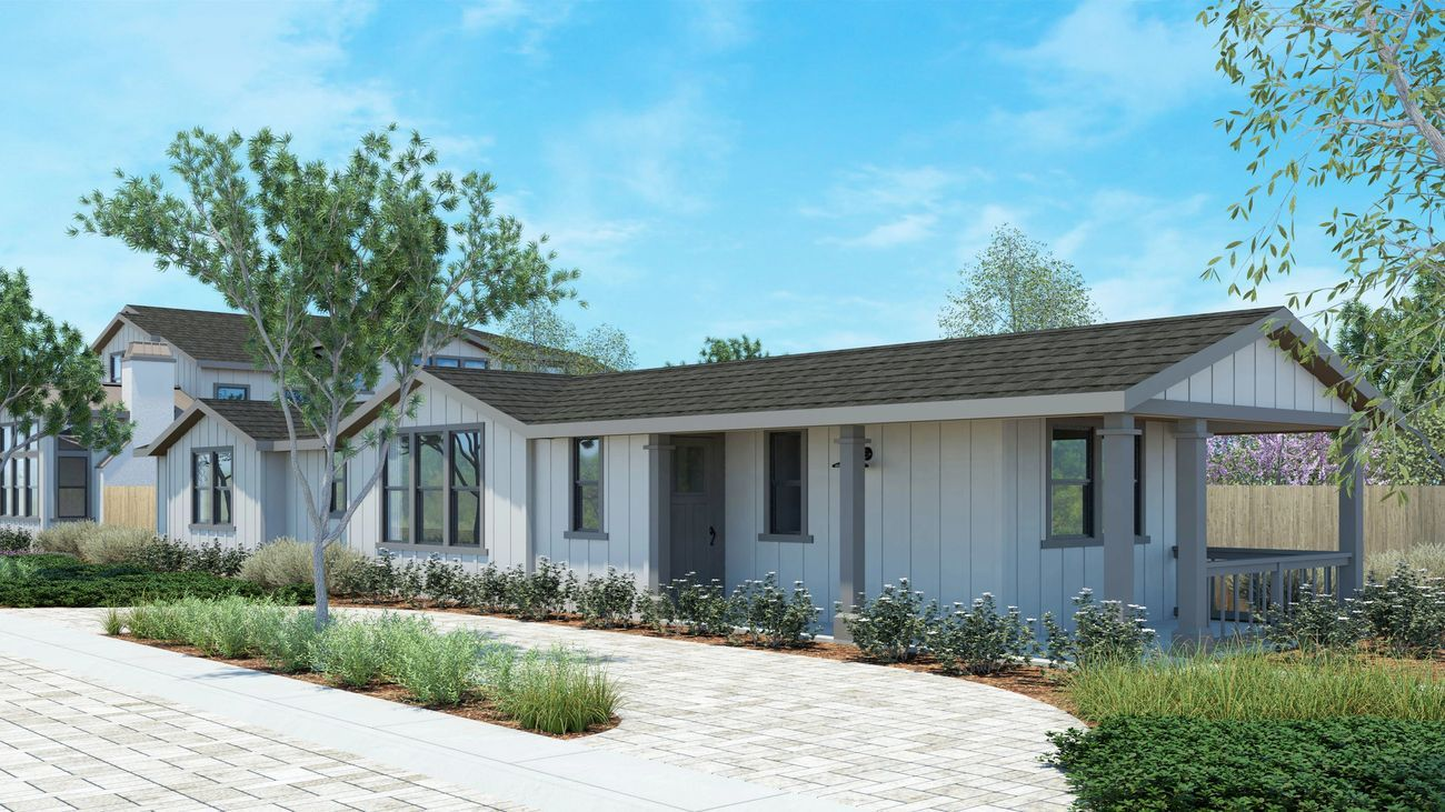 Exterior featured in the Lot 1 By Hacienda Estates  in San Jose, CA