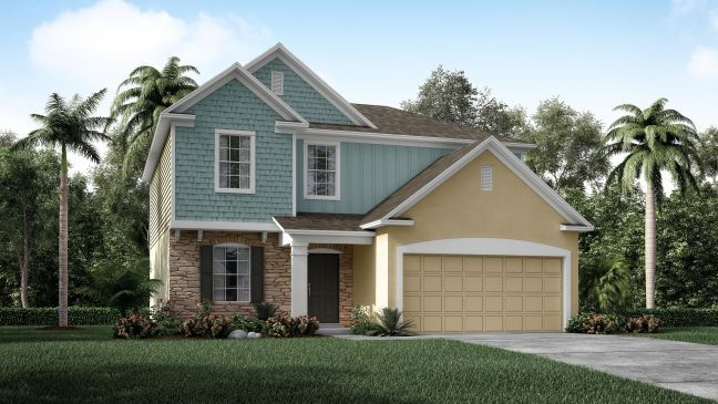 Fantastic Palm Bay In Palm Bay Fl New Homes By Maronda Homes Home Interior And Landscaping Dextoversignezvosmurscom