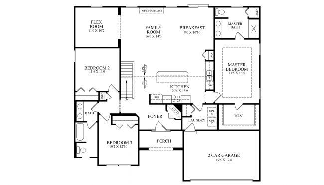 Stratford Plan at Walker Pointe in Ashville, OH by Maronda Homes on
